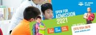 Kids School Facebook Cover template