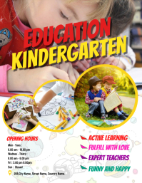 Kids School Flyers