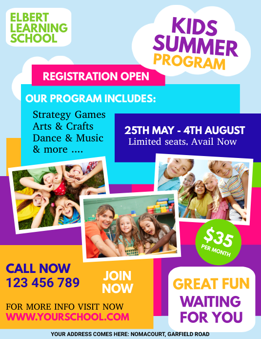 kids summer camp, summer camp, holidays