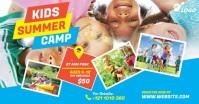 Kids Summer Camp Ad Facebook 共享图片 template