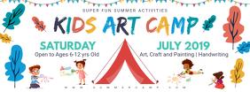 Kids Summer Camp Banner Template