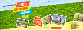 Kids Summer Camp Facebook Cover Image template