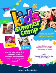 2 340 Customizable Design Templates For Summer Camp Flyer