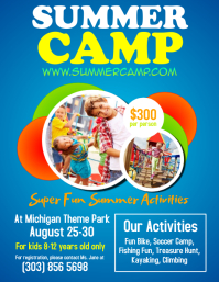 Customizable Design Templates For Summer Fair PosterMyWall - Summer camp brochure template