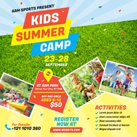 Kids Summer Camp Instagram Post