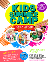 1 890 customizable design templates for summer camp flyer