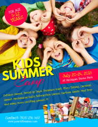21370 customizable design templates for kids event postermywall kids summer camp flyer template maxwellsz