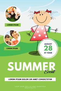 Kids Summer Event Flyer Template