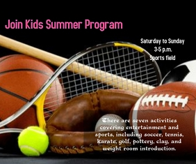 kids summer sports program