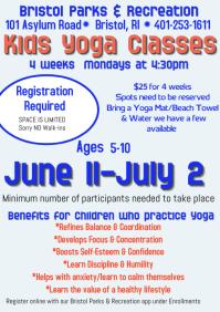 Kids Yoga June 2018