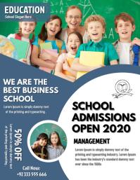 Kindergarten Admission Flyer