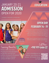 Kindergarten Admission Flyer