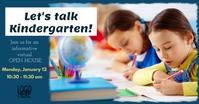 Kindergarten Open House Gambar Bersama Facebook template