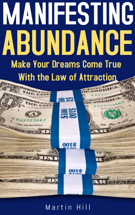 Law of Attraction Manifesting Kindle Book Cover Template