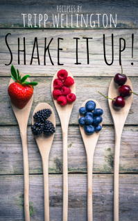 Kindle Book Cover Shake Recipes Sampul Buku template