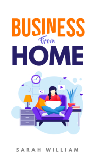 Kindle Ebook Business from Home Template Sampul Buku