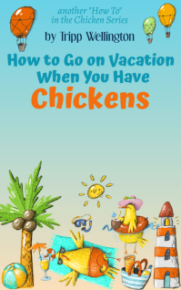 Kindle Funny Chicken Vacation Cover Kindle/Book Covers template