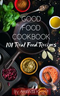 Kindle Recipe Book Cover Template Sampul Buku
