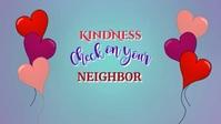 Kindness Video วิดีโอหน้าปก Facebook (16:9) template