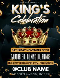 KING'S CELEBRATION CLUB TEMPLATE