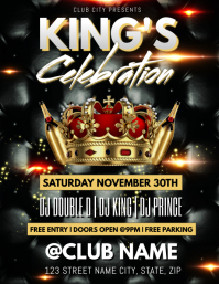 KING'S CELEBRATION CROWN CLUB TEMPLATE