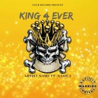 KIng 4 ever video Mixtape/Album Cover Art ปกอัลบั้ม template