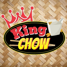 King Chow Logo template