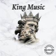 KING Music Trap Mixtape/Album Cover Art Okładka albumu template