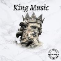 KING Music Trap Mixtape/Album Cover Art Okładka albumu template