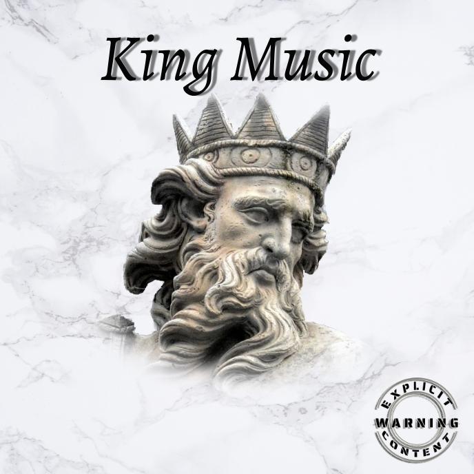KING Music Trap Mixtape/Album Cover Art template