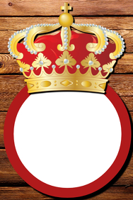 King Party Prop Frame