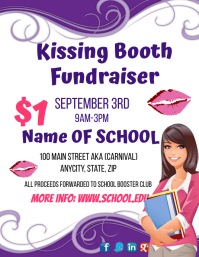 Kissing Booth Fundraiser