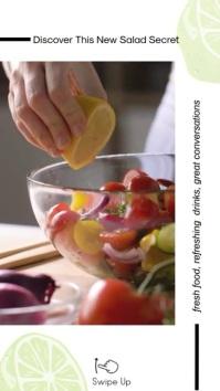 Kitchen Recipe Instagram Story DesignTemplate