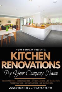 Kitchen Renovations Poster