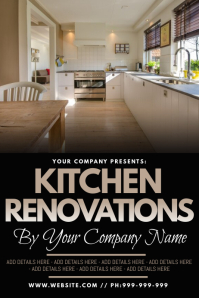 Kitchen Renovations Poster