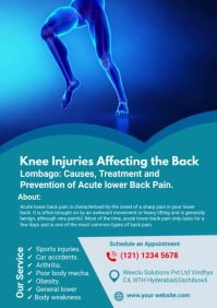 Chronic Knee Pain A4 template