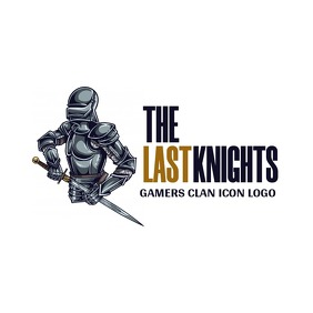 knight icon logo template