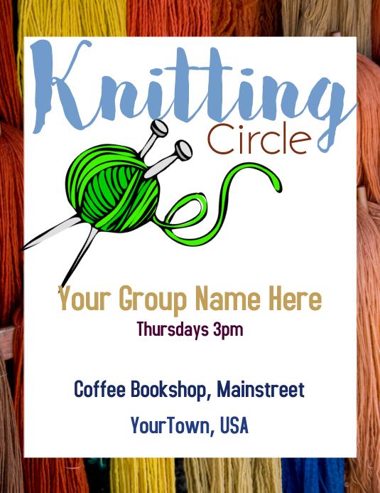 Knitting Circle Event