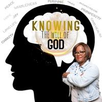 Knowing God Instagram-opslag template
