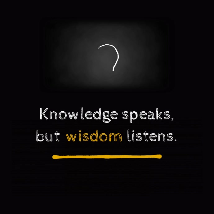 knowledge motivational animation template postermywall