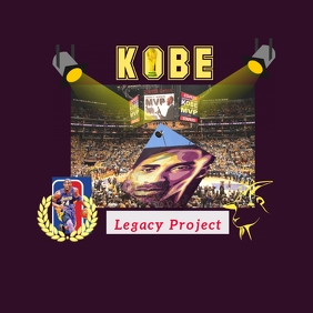 Kobe Legacy Project Logo template