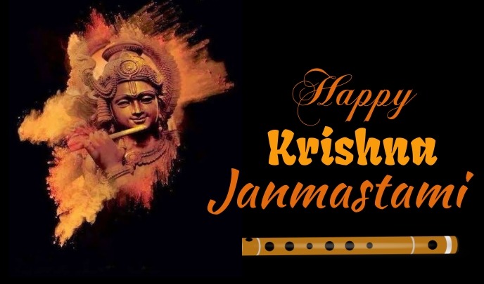 Krishna Jeyanti Etiqueta template