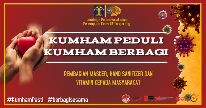 KUMHAM PEDULI KUMHAM BERBAGI Facebook Shared Image template