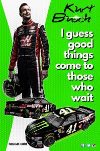 Kurt Busch Poster