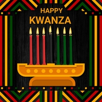 Kwanza,festival,event,hannukah Pos Instagram template