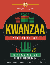 kwanzaa Flyer (US Letter) template