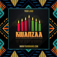 Kwanzaa instagram post template