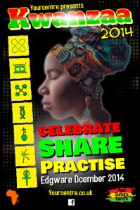 Kwanzaa Poster Template