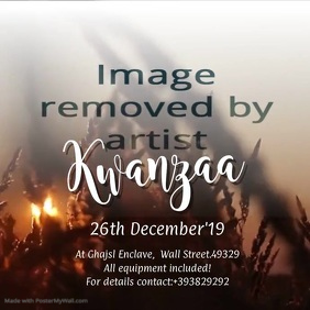 Kwanzaa VIDEO Ad