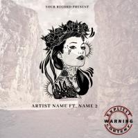 LA Mixtape/Album Cover Art template